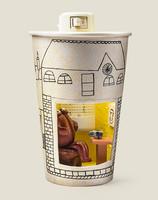 Светильник стакан Кофейный домик