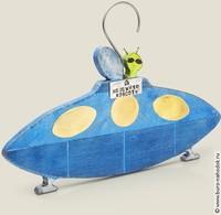 Вешалка Летающая тарелка
