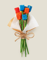 Магнит на холодильник Букетдеревянных цветочков