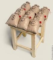 Сидушка на стул Денежный мешок