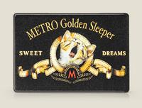 Чехол на проездной METRO Golden Sleeper SWEET DREAMS