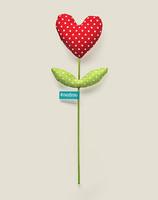 Сердце Цветок люблю